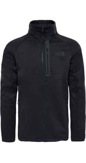 The North Face Canyonlands Full Zip Fleece Jacket Men TNF Black